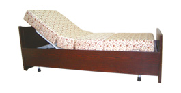 Electrical Adjustable Semi Wooden Bed