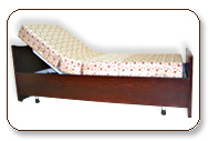 Wooden Medical Care Bed for treatment of back ache and back pain relief.