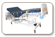 These Bed special preferable to hospital for its height adjustable feature which is very comfortable to patients for their respective height.
