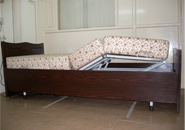 Homecare Bed with protable mattress foam